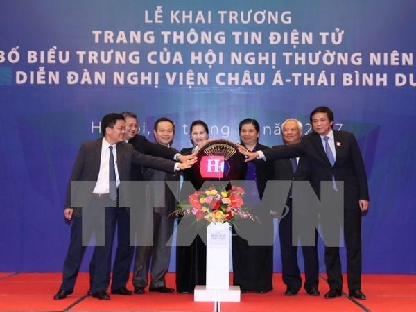 Lanzan en Vietnam portal digital de APPF 26 hinh anh 1