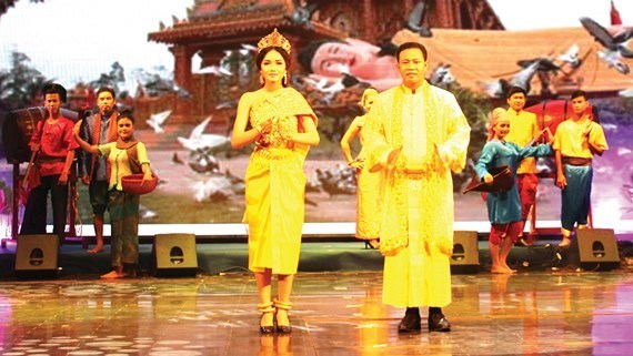 Inauguran Festival cultural de comunidad Khmer en Vietnam hinh anh 1