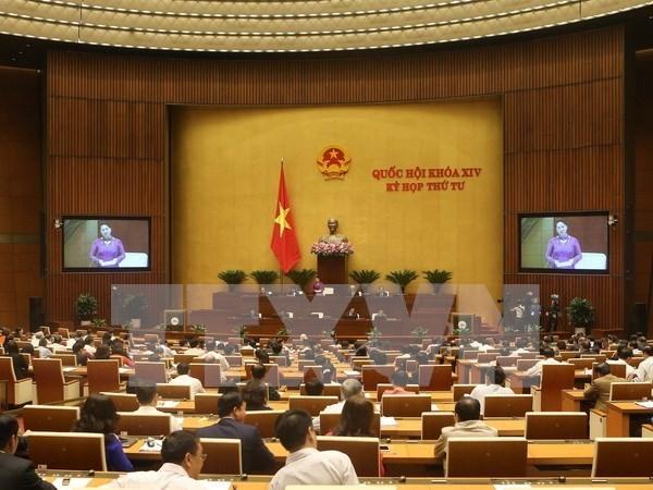Asamblea Nacional de Vietnam continua sesion de interpelacion hinh anh 1