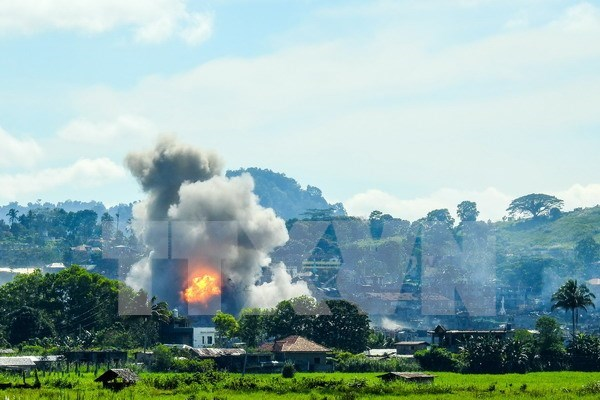 Filipinas considera prolongacion de ley marcial en Mindanao hinh anh 1