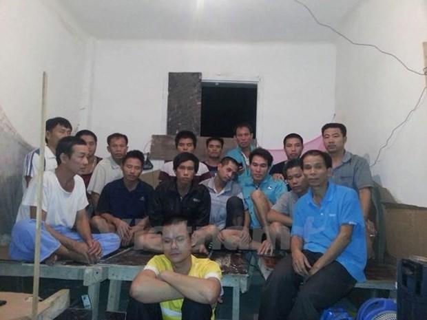 Empresa china en Argelia patentiza apoyo a trabajadores vietnamitas hinh anh 1