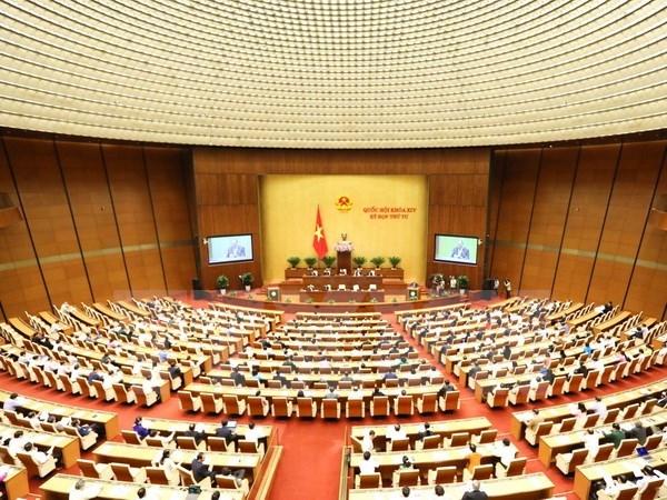 Presidenta del Parlamento aprecia altamente calidad de sesiones de interpelacion hinh anh 1
