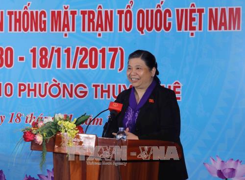 Localidades vietnamitas celebran Fiesta de Unidad Nacional hinh anh 1