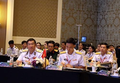 Vietnam asiste a Reunion de Comandantes de Fuerzas Navales de la ASEAN hinh anh 1