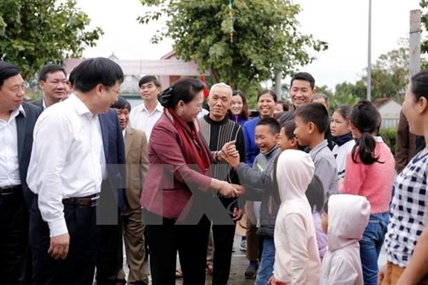 Presidenta del Parlamento vietnamita llama a impulsar modernizacion de zonas rurales hinh anh 1