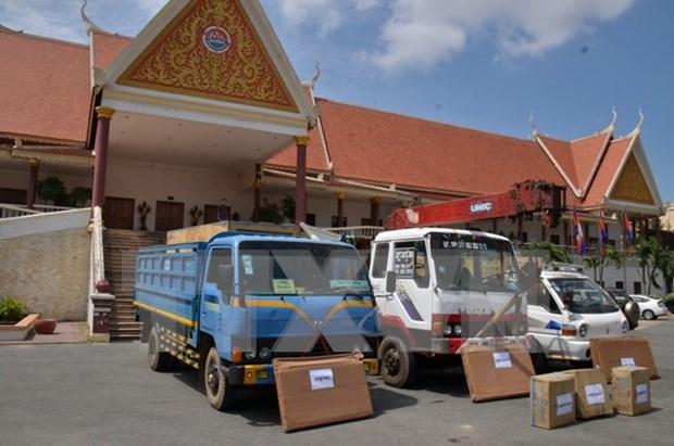 Foro de comercio e inversion marca aniversario de nexos diplomaticos Vietnam- Camboya hinh anh 1