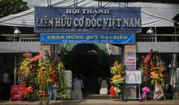 Celebran quinto congreso de Iglesia Fraternidad Cristiana de Vietnam hinh anh 1