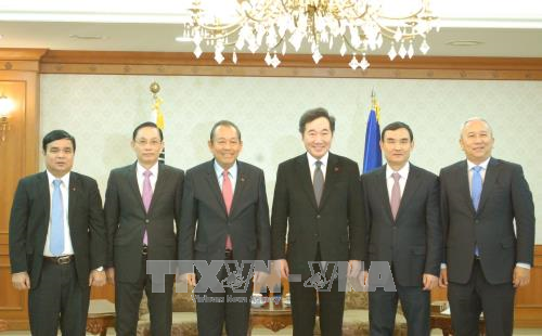 Robustecen relaciones Vietnam- Sudcorea hinh anh 1