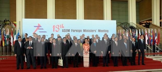 Vietnam insta a acciones conjuntas en ASEM para hacer frente a los desafios actuales hinh anh 1