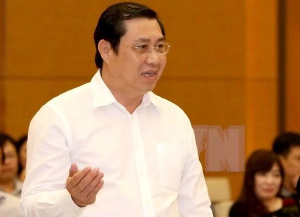 Presidente del Comite Popular de Da Nang recibe sancion por violaciones hinh anh 1