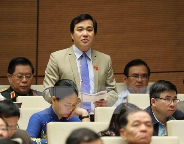 Parlamento vietnamita aprueba resolucion sobre politicas de crecimiento de Ciudad Ho Chi Minh hinh anh 1