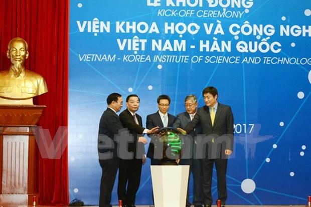 Ponen en operacion Instituto de Ciencia y Tecnologia Vietnam-Sudcorea hinh anh 1