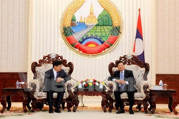 Vietnam y Laos robustecen lazos en radiodifusion hinh anh 1