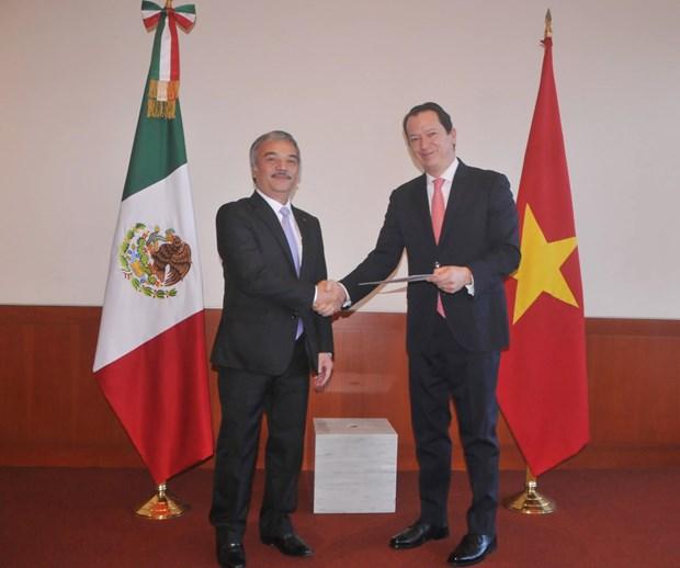 Mexico destaca logros socioeconomicos de Vietnam hinh anh 1