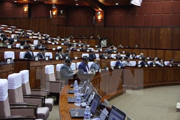 Parlamento de Camboya expulsa a miembros de partido opositor hinh anh 1