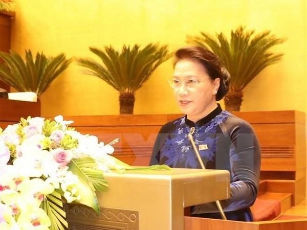 Presidenta del Parlamento de Vietnam visitara Singapur y Australia hinh anh 1