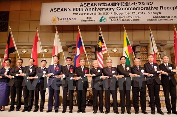 Japon destaca papel central de ASEAN hinh anh 1