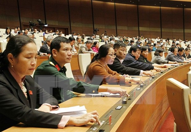 Asamblea Nacional de Vietnam analiza Ley Anticorrupcion hinh anh 1