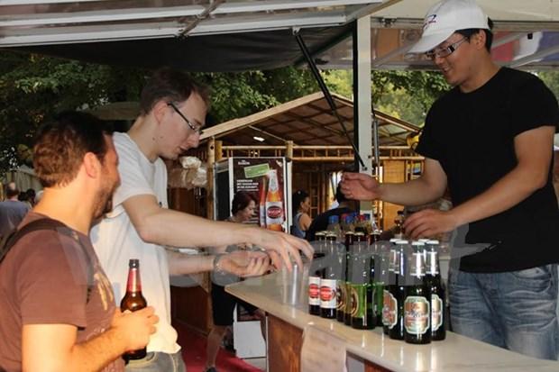 Cerveza vietnamita conquista a consumidores israelies hinh anh 1