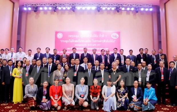 Vietnam participa en seminario internacional sobre socialismo en Laos hinh anh 1