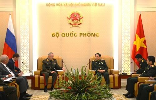 Vietnam y Rusia fomentan lazos de defensa hinh anh 1