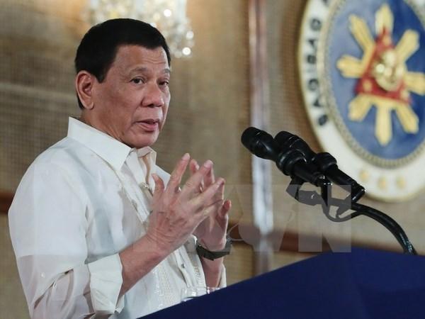 Presidente filipino cancela conversaciones de paz con NPA hinh anh 1