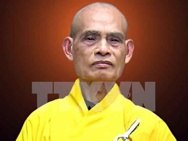 Venerable Thich Pho Tue reelegido como maximo dirigente de Sangha Budista de Vietnam hinh anh 1