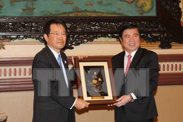 Ciudad Ho Chi Minh y prefectura japonesa de Osaka impulsan cooperacion comercial hinh anh 1