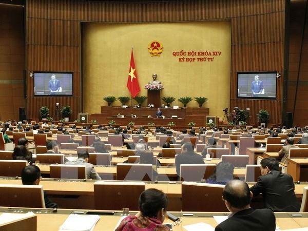 Asamblea Nacional de Vietnam aprueba proyecto de Ley de Gestion de deudas publicas hinh anh 1