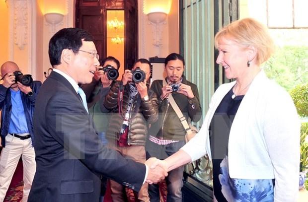 Vietnam y Suecia impulsan cooperacion multifacetica hinh anh 1
