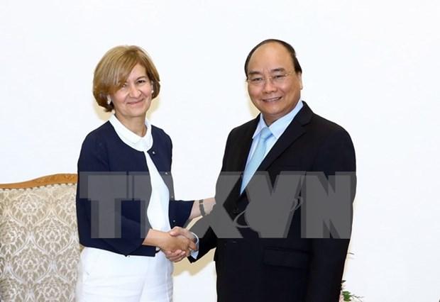 Premier Xuan Phuc propone ratificacion por Portugal de TLC Vietnam-UE hinh anh 1