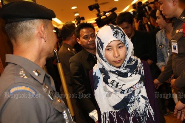 Autoridades de Tailandia arrestan a sospechosa vinculada al atentado del templo Erawan hinh anh 1