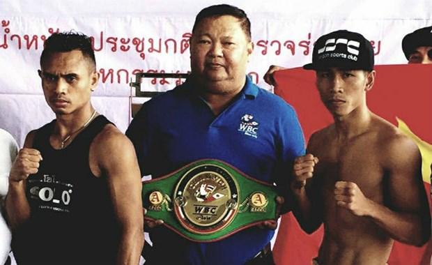 Boxeador vietnamita hace historia al ganar titulo WBC Asia hinh anh 1