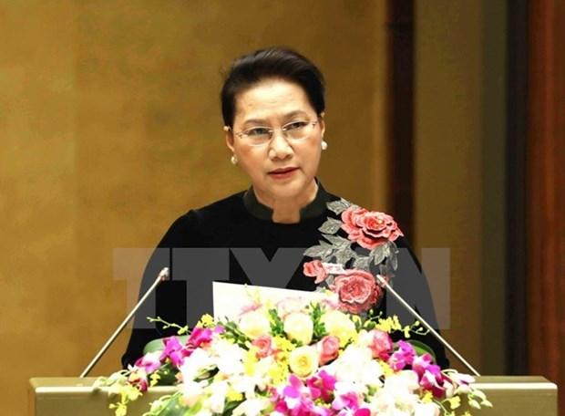 Asamblea Nacional de Vietnam concluye cuarto periodo de sesiones hinh anh 1