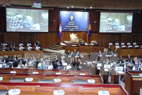 Camboya reparte asientos del CNRP a otros partidos hinh anh 1