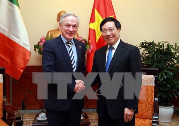 Vietnam e Irlanda por ampliar cooperacion en sectores potenciales hinh anh 1