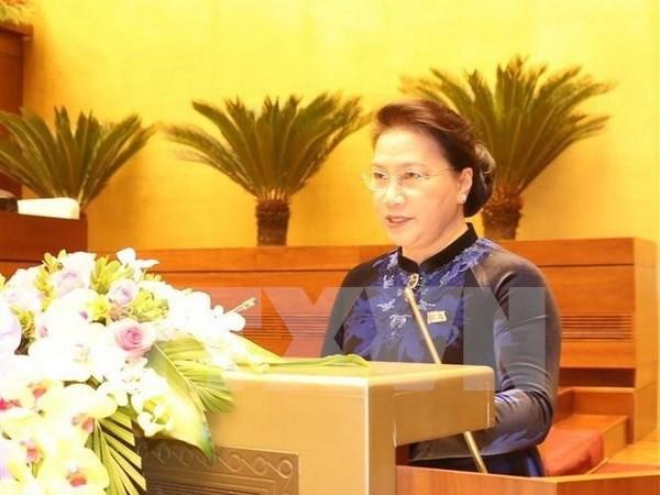 Presidenta del Parlamento de Vietnam realizara gira por Singapur y Australia hinh anh 1