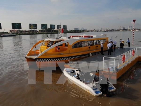 Entra en servicio primera ruta de autobus fluvial en Ciudad Ho Chi Minh hinh anh 1