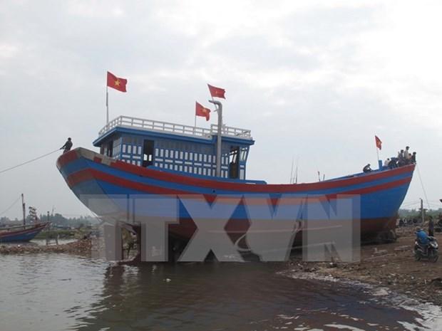 Provincia vietnamita de Soc Trang por desarrollar flotilla para pesca en alta mar hinh anh 1