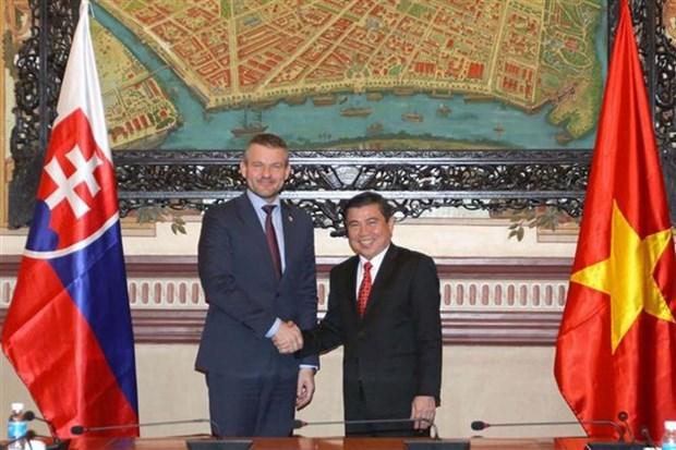 Reafirman apoyo a operaciones de empresas eslovacas en Ciudad Ho Chi Minh hinh anh 1