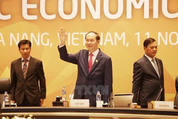 Exito del APEC 2017 evidencia papel de Vietnam en el mundo, afirmo presidente hinh anh 1