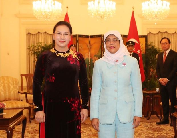 Destacan relaciones Vietnam- Singapur hinh anh 1