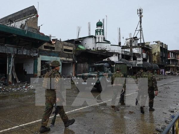 Ejercito de Filipinas intensifica operaciones contra grupo insurgente NPA hinh anh 1