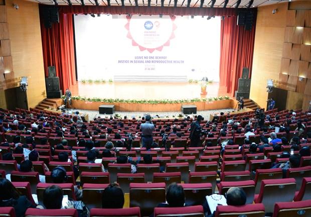 Celebran en Vietnam IX Conferencia de Asia- Pacifico sobre Salud y Derechos Reproductivos y Sexuales hinh anh 1