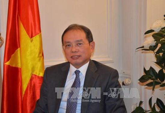 Vietnam asiste a reunion ministerial de la Francofonia en Paris hinh anh 1