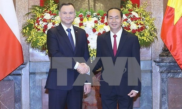 Declaracion conjunta Vietnam-Polonia hinh anh 1