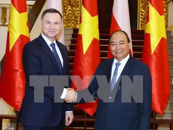 Vietnam y Polonia impulsan cooperacion multifacetica hinh anh 1