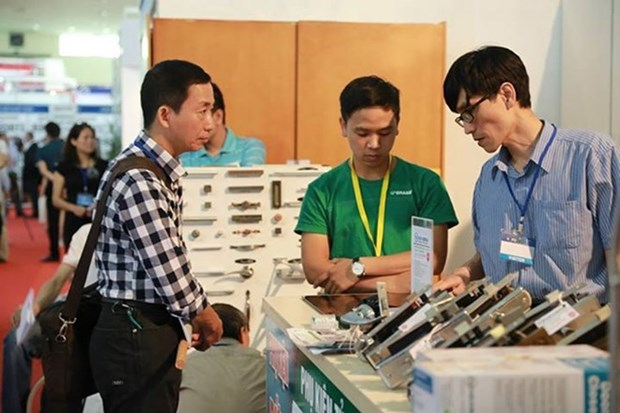 VIETNAM EXPO 2017 atraera amplia participacion de empresas extranjeras hinh anh 1