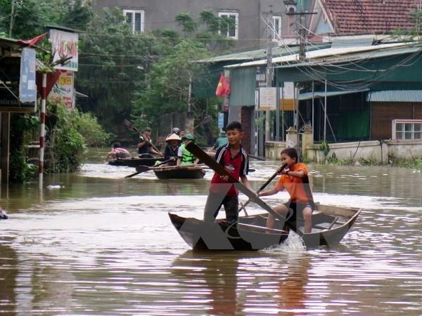 ONU aumenta ayuda a Vietnam para superar consecuencias del tifon Damrey hinh anh 1