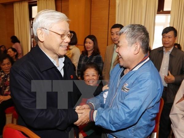 Votantes de Hanoi destacan mejoras en cuarto periodo de sesiones del parlamento hinh anh 1